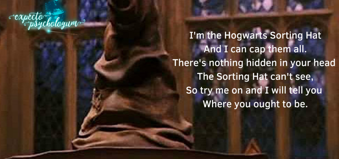 Sorting Hat and Personality - What does your Hogwarts House