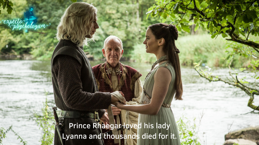 Things I do for love - Types of love in Game of Thrones - Expecto